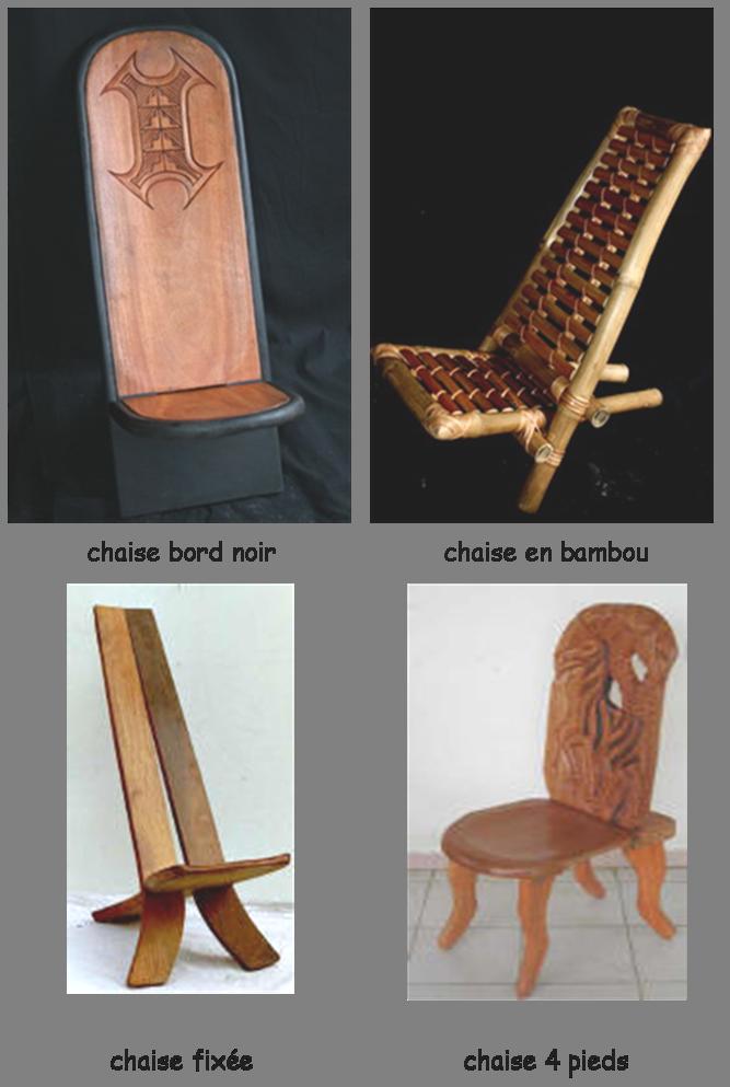 La chaise palabre ou chaise de gardien french - Fabrication d une chaise en bois ...